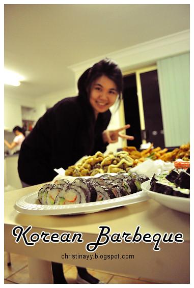 Pre-Birthday Preparation: Korean BBQ Tonight
