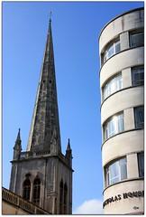 St Nicholas Church (Donna JW) Tags: church bristol spire stnicholaschurch