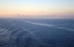 Hvasti Tallinn. (Jaan Keinaste) Tags: sea fog sunrise harbor tallinn estonia pentax meri sadam eesti udu k7 pikesetus vanagram