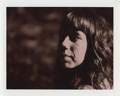 Mathilde (sdzn) Tags: portrait polaroid women chocolate 600se chocolatefilm sdzn