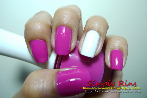 Nail Art Breast Cancer Awareness 01