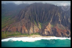 Kalalau valley (yogasurf) Tags: ocean beach water island hawaii waterfall surf oahu maui kauai yogasurf