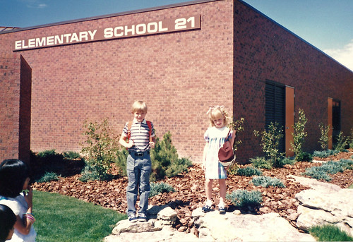first day of school 1985