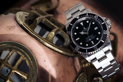 Rolex Submariner 16610 (ByBBR) Tags: netherlands helmet diving automatic diver oyster rolex submariner perpetual 16610