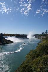 DSC08199 (IanMessenger1) Tags: ontario canada niagarafalls waterfall rainbow niagara maidofthemist skylon horseshoefalls skylontower canadianfalls
