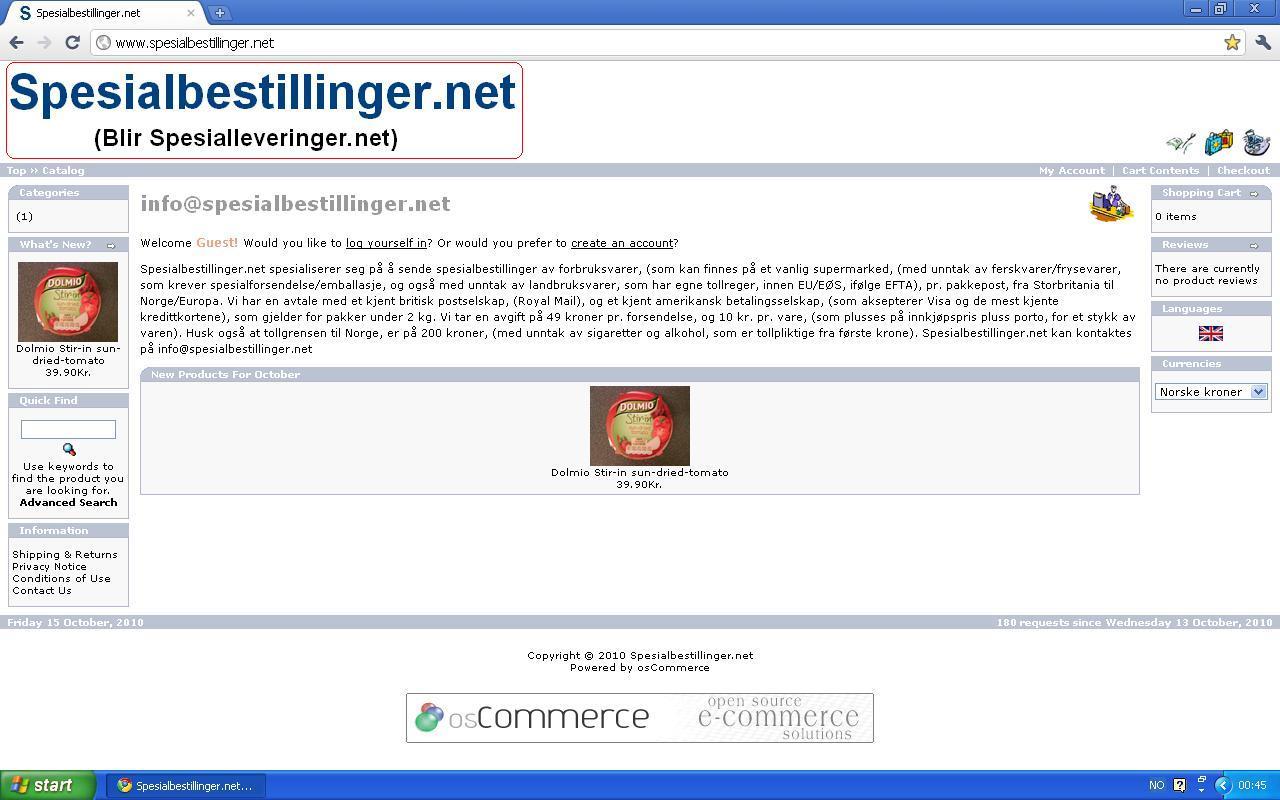 spesialleveringer.net