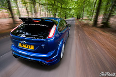 I ONLY BRAKE FOR CAKE my Ford Focus RS Mk 2 (NWVT.co.uk) Tags: blue 2 motion cars ford cake photography for focus performance automotive hampshire only brake rs mk in i nikonflickraward nwvt frsoc