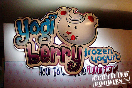 Yogiberry Frozen Yogurt in Greenhills - CertifiedFoodies.com