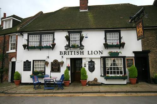 The British Lion, Folkestone