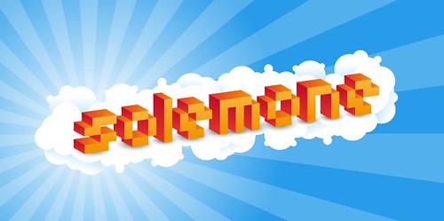solemone Pixel 3D Texteffect