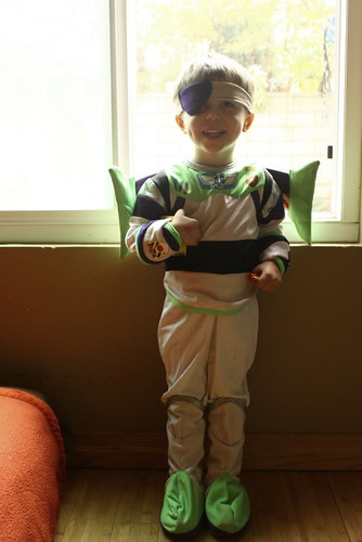 Pirate Buzz Light Year