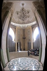 Hassan II Mosque (woutervv) Tags: panorama minaret mosque morocco maroc casablanca hassan marokko moskee moskeehassanii