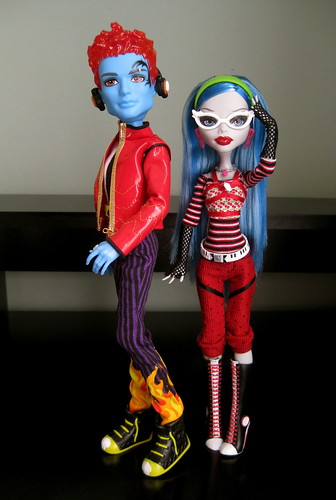 Holt and Ghoulia !!!!!!
