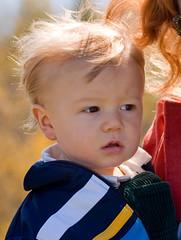 Patrick...so serious (Brian Leon of Ottawa) Tags: family autumn portrait patrick blueridgeparkway faceofportraits