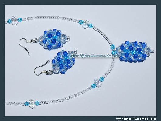 Set 90 Cristale   Blue – DISPONIBIL IN MAGAZIN