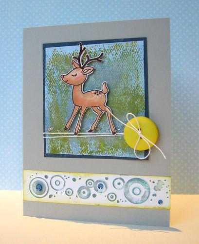 Baby Reindeer card