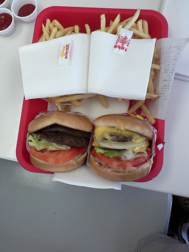 Two Double Doubles and Fries