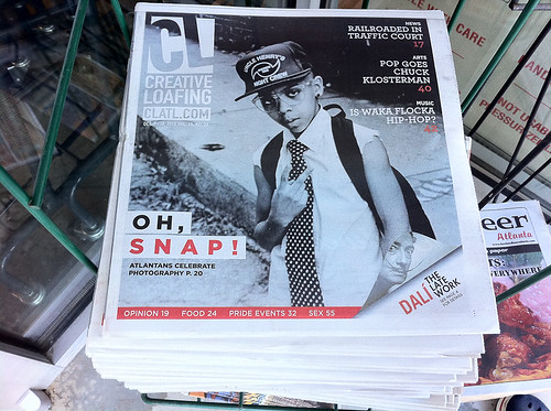 My Atlanta on Creative Loafing Cover
