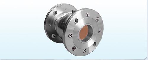 Complete Stainless Steel Flanged Pinch Valve