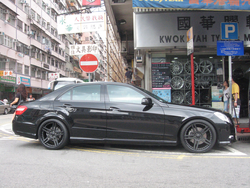 Modulare Wheels C11 W212 E Class Amg Concave Blacked