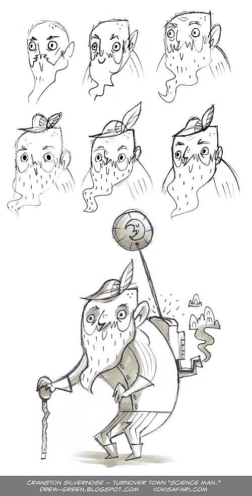 Cranston Silvernose pen concepts