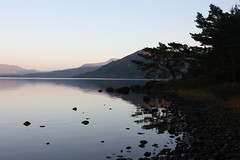 Loch Maree (Mairi Stephen) Tags: trees sky reflection tree canon eos scotland twilight october autum stephen lilac loch maree 2010 mairi poolewe 450d slattadale