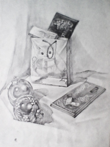 Still-life, 2001 Pencil on Paper