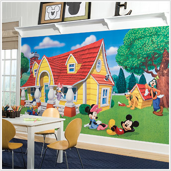 mickey mouse wallpaper decals