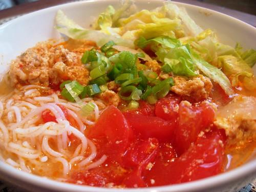 Bún Riêu (Vietnamese Crab Soup)