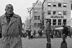Heard It All Before (gman_garry) Tags: bw daily streetscenes nuernberg 28mmf18 40d