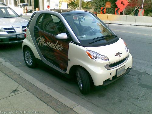 Movember Smart ride