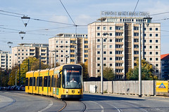 Dresden (Wojtek wg) Tags: dresden tramwaj drezno wielkapłyta ngtd12dd