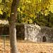 Reste der Stauferburg auf dem Glauberg