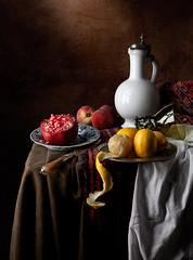 Vermeer Still Life (kevsyd) Tags: stilllife pomegranate naturamorte kevinbest dutchstilllife vermeerstilllife