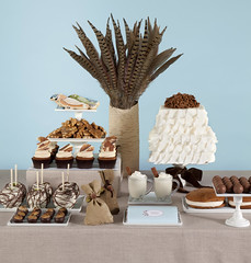 Fall Dessert Table for Mpls St Paul Magazine