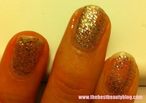 OPI, nail polish, shimmer gold