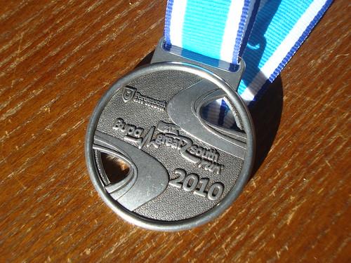 Great South Run medal