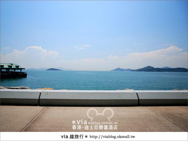【香港住宿】跟著via玩香港(4)~迪士尼樂園酒店(外觀、房間篇)15