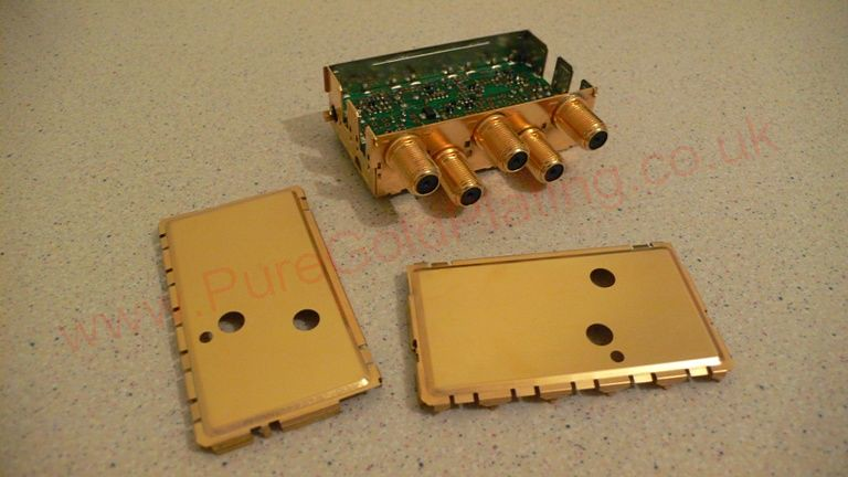 Gold Plated Electronics