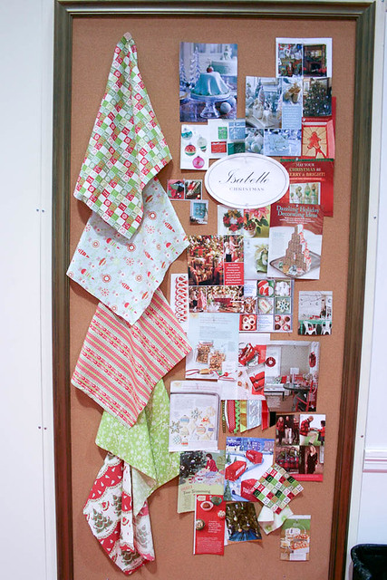 Isabelle Christmas Inspiration Board