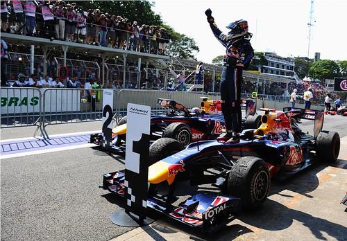 Vettel vence GP do Brasil