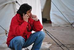 Ministro hablando (EDO BERTRAN: FOTOS SIN PHOTOSHOP) Tags: chile rescue lawrence mine 33 president sanjose mina fenix sanlorenzo sanesteban chileno chilean capsula chilenos rescate rescatistas goldborne fenix2 fenix3 piñera