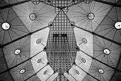 La Dfence (O. Al-Mana) Tags: blackandwhite bw abstract paris france monochrome architecture nikon tamron d60 tamron1750 ladfence
