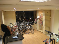 Almost finished (Speeds Cycles, Bromsgrove) Tags: speedscycles
