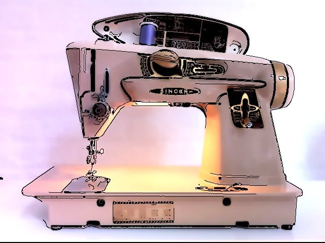 Invisible Flower Sewing Machines Vintage Vs Modern Stunning Modern Sewing Machine