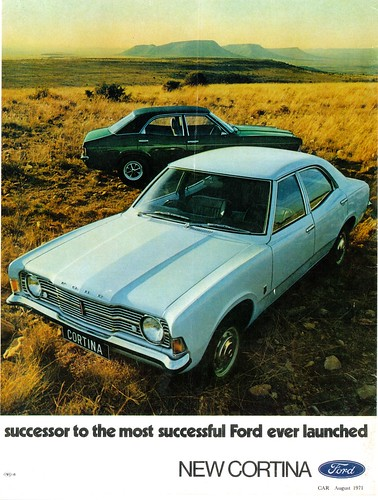1971 Ford Cortina (South Africa) | Flickr - Photo Sharing!