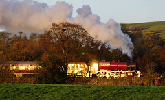 Golden moment (geoffspages) Tags: railway steam 8f 8624 uksteam cauldonlowe