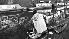Canal fisherman - Skipton