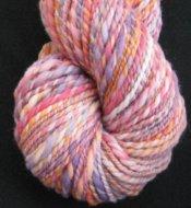 "4.1 oz 2 ply Hand Spun Bulky Yarn 100% Merino Wool ""Playtime"""