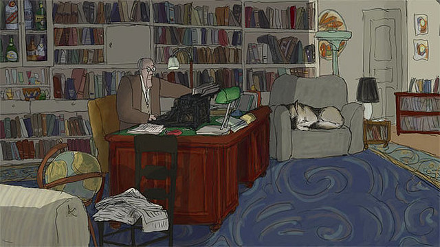 Christopher Plummer is the voice if J.R. Ackerly in 'My Dog Tulip'.